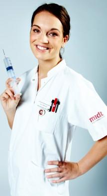Sygeplejerske (Foto: www.randers-hf-vuc.dk)