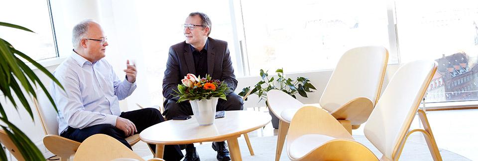 Styr organisationen i en grøn retning (foto hansentoft.dk)