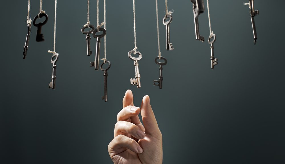 nøgler i snor