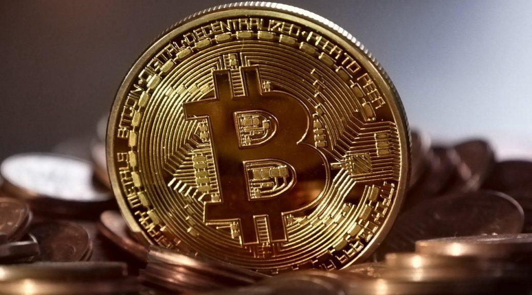 Stor guld Bitcoin