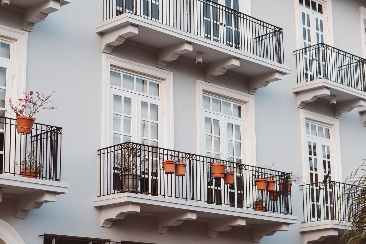 Andelsbolig lejlighed med altaner